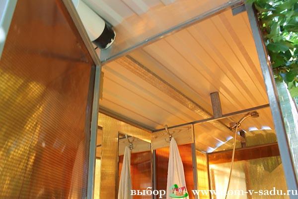 На что установить душ на даче своими руками фото 370