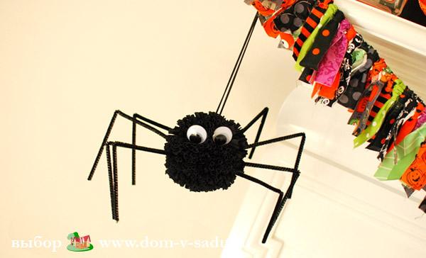 Поделка паук своими руками