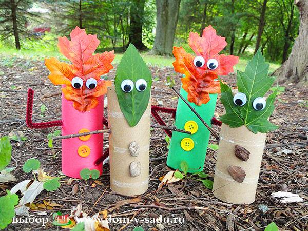 Поделка в садик на тему осень