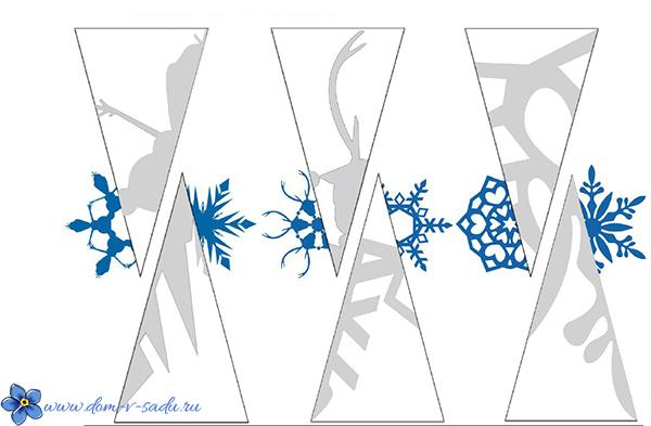 Шаблоны для вырезания снежинок для печати