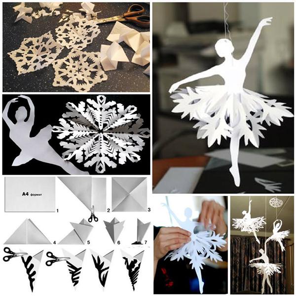 Шаблоны для снежинки своими руками из бумаги
