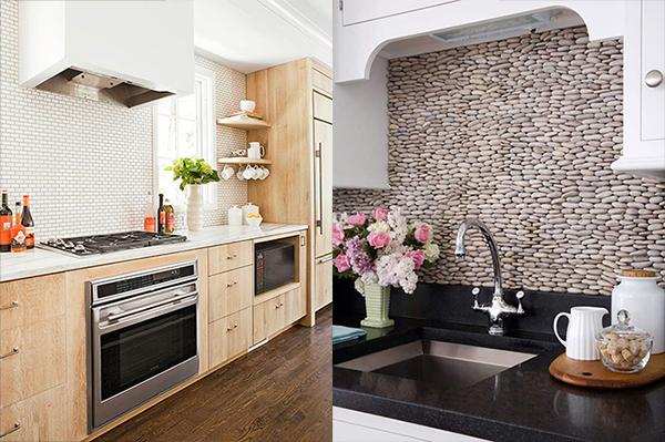 Интересный дизайн кухни в пастельных тонах