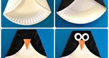 Поделка из бумажных тарелок для детей 3 - 4 лет