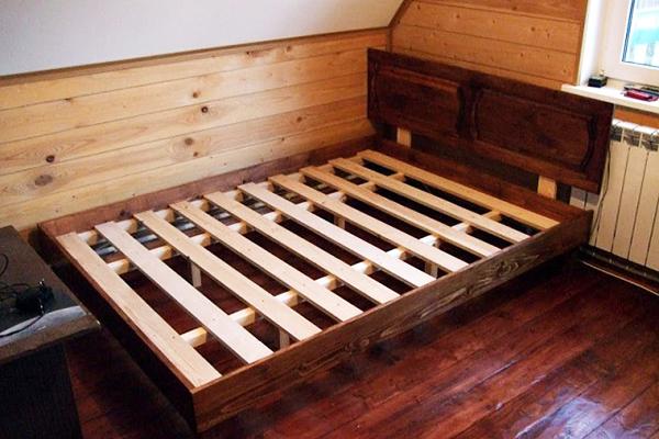 Реечное дно для кровати своими руками