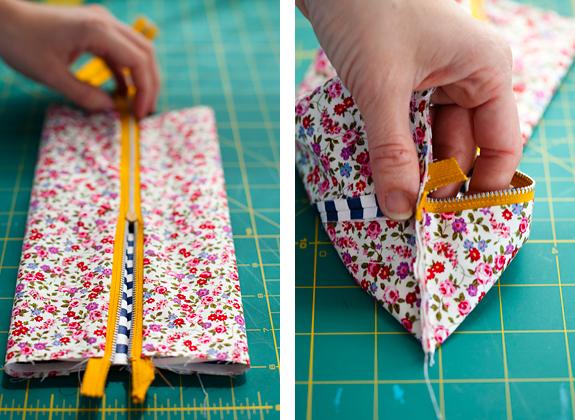 Как сделать косметичку своими руками без швейной машинки