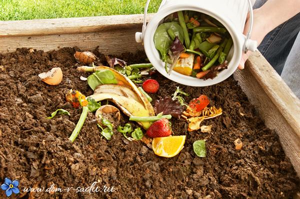 как приготовить компост для сада