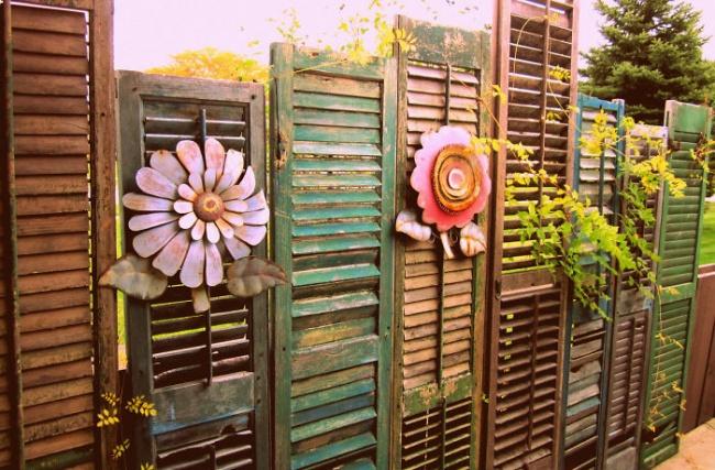 деревянный забор на даче недорого