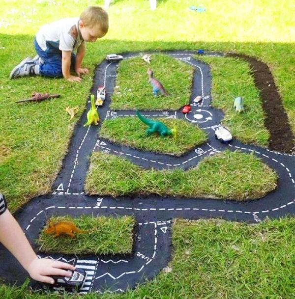 детская площадка на даче для детей