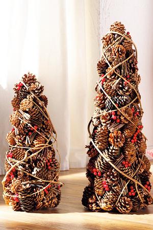 елка из шишек своими руками