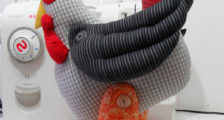 Игрушка петух из ткани своими руками