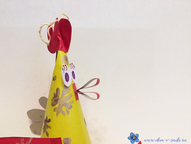 игрушка петушок на елку