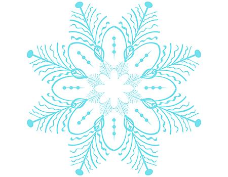 Как сделать снежинку из бумаги в домашних условиях