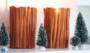 новогодние ароматные свечи своими руками