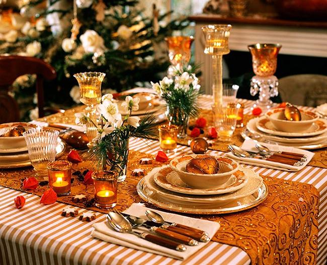 красивый праздничный стол