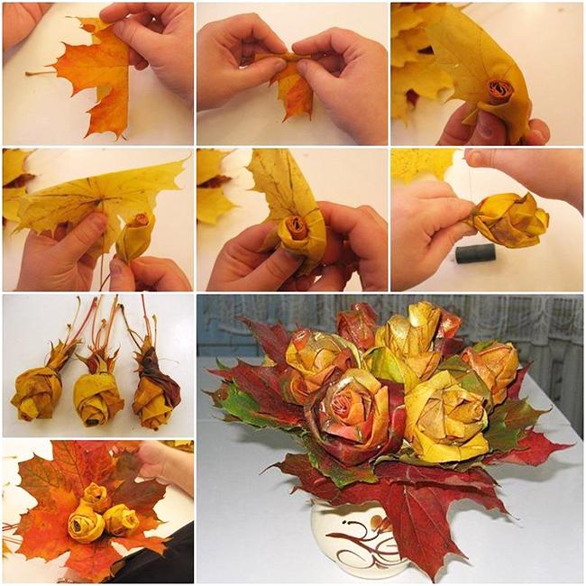 Осенний поделки своими руками из шишек