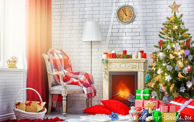 Новогодний декор 2018 как в сказке! 11 идей как украсить дом к Новому году, Красивый Дом и Сад