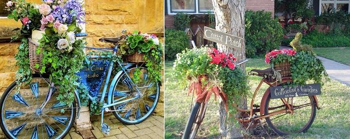 велосипед на даче