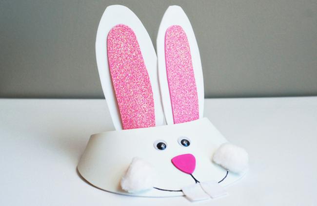 кролик из бумаги своими руками