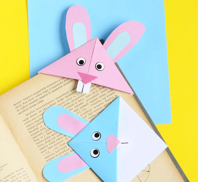 поделка кролик оригами