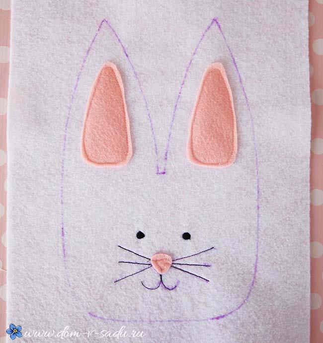 мастер класс поделка кролик
