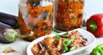 рецепт из баклажанов на зиму