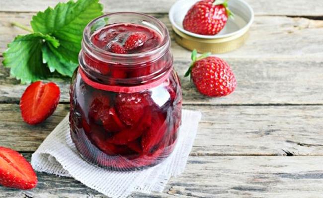 варенье из ягод клубники
