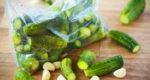 рецепт малосольных огурцов хрустящих быстрого приготовления