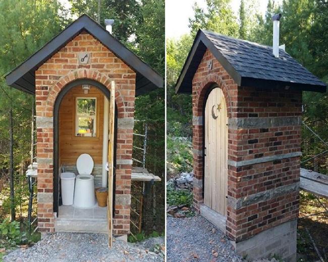 запах в уличном туалете