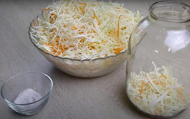 рецепт квашенной капусты